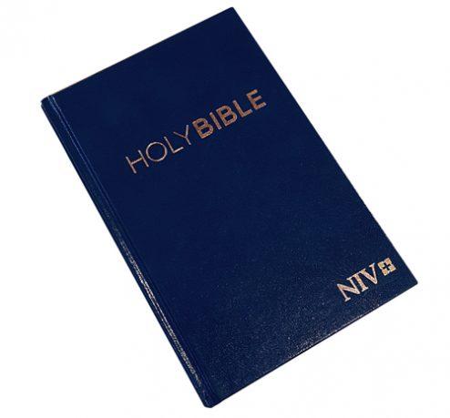 Englanti R NIV sininen