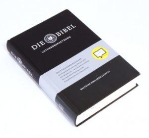 Saksa Raamattu Luther2017 (mustakantinen)