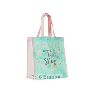 Eco tote -kassi, Let your light shine