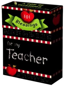 A Box Of Blessings: For My Teacher