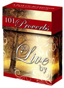 A Box Of Blessings: 101 Proverbs To Live By