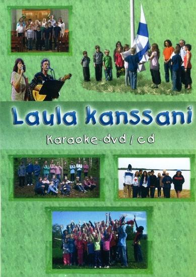 Laula kanssani -karaoke DVD/CD