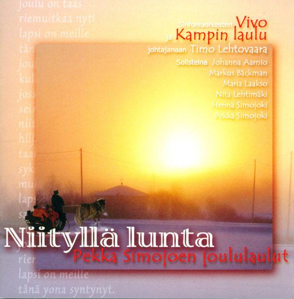 Niityllä lunta - Pekka Simojoen joululaulut CD