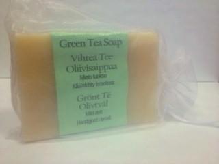 Vihreä Tee oliiviöljysaippua 115 g