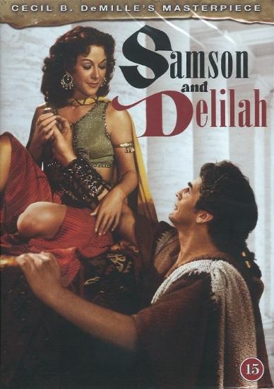 Simson ja Delila DVD