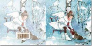Joulukortti: Enkeli (2-osainen)