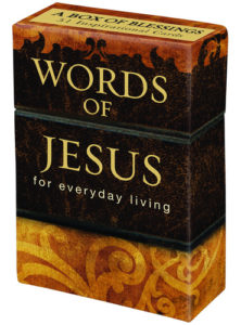 A Box Of Blessings: Words of Jesus