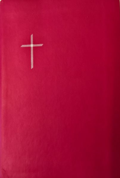 Raamattu, keskikoko, pinkki, reunahakemisto, RK