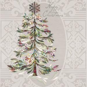 Lautasliina: Crystal Tree