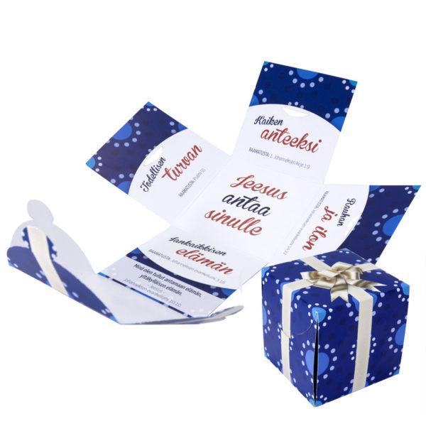 Evankelioiva lahjapaketti 'Jeesus antaa'