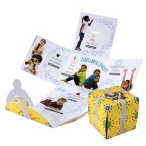 Evankelioiva lahjapaketti, Lapset