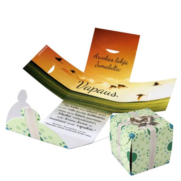Evankelioiva lahjapaketti, Vapaus