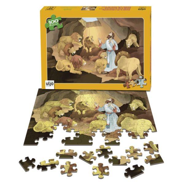 Palapeli, Daniel leijonien luolassa, 100 palaa