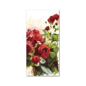 Ruusut (Iso taittokortti kuorella)