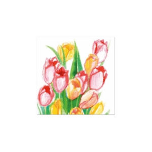 Postikortti: Tulppaanit