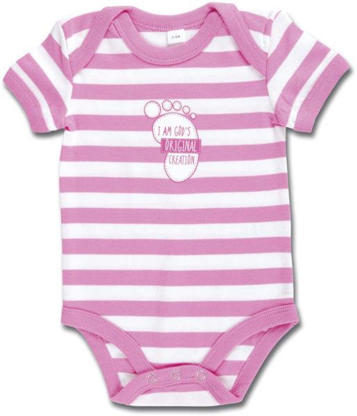 Vauvan body, punaraita