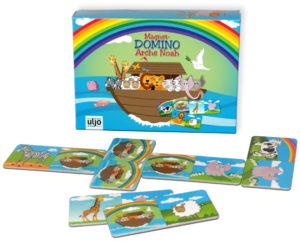 Peli, domino, Nooan arkki (magneetit)