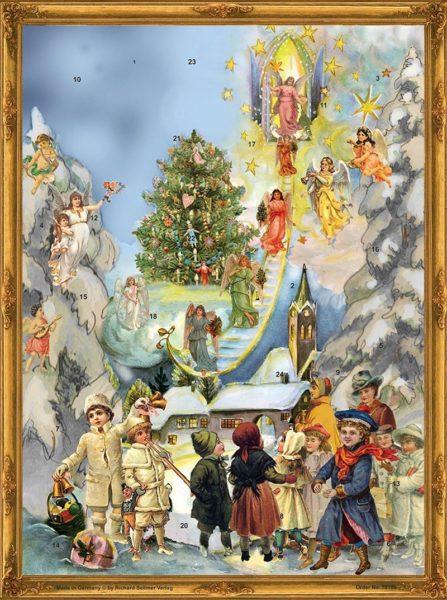Adventtikalenteri A3, Portaat taivaaseen