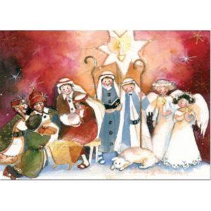 Joulukortti: Joulujuhlakuvaelma