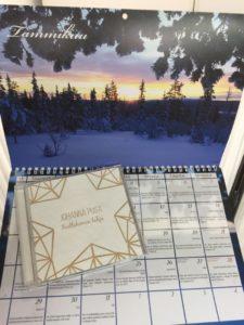 Beetlehemin lahja CD + Seinäkalenteri 2018