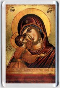 Magneetti: Jumalan äiti-ikoni
