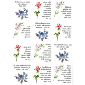 Tarra-arkki, Kukkia, Ilo Herrassa...