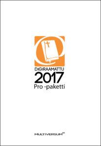 DigiRaamattu 2017 Pro -paketti (sis. IRT + Novum + Saarisalo + Palva)