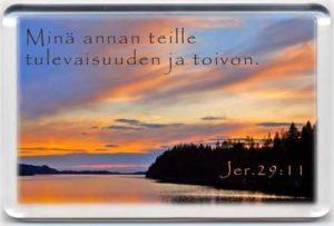 Magneetti: Jer.29:11