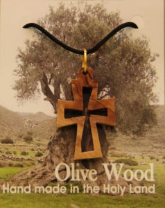 Kaulariipus, risti ontto, oliivipuu