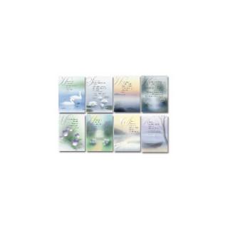 Ajatelma-aalto (hengellinen) -korttisarja 8 kpl lajitelma