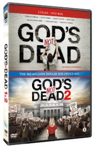 God's not dead 1 & 2 DVD (englanninkielinen, ei suom.kiel. tekstitystä)