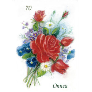 Kortti, Onnea 70v. punaruusut