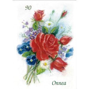 Kortti, Onnea 90v. punaruusut