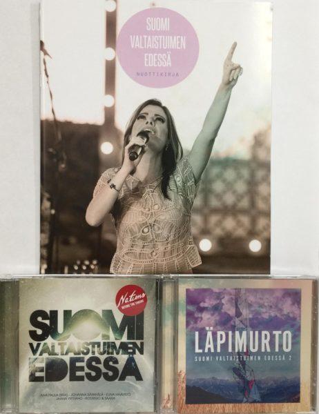 Ana Paula paketti (2 x CD + nuottikirja)