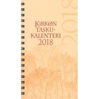 Kirkon taskukalenteri 2018 (pelkkä vuosipaketti)