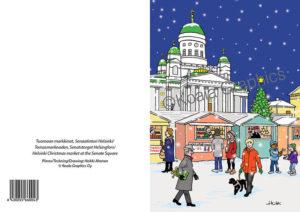 Joulukortti: Tuomaan markkinat (2-osainen)