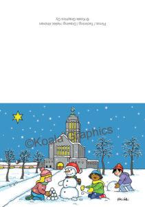 Joulukortti: Kallion joulua (2-osainen)