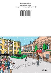 Joulukortti: Joulurauhan julistaminen (2-osainen)