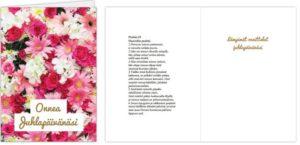 Kortti: Onnea juhlapäivänäsi (2-osainen)