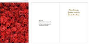 Kortti: Punaiset ruusut, Ps. 73 (2-osainen)