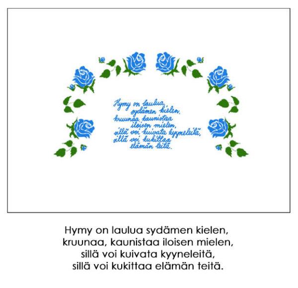 Tyynyliina, Hymy sininen