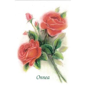 Kortti, Ruusukimppu, Onnea