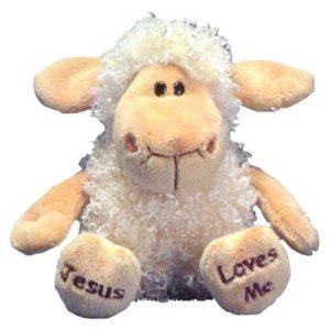 Pehmolelu lammas, Jesus loves me