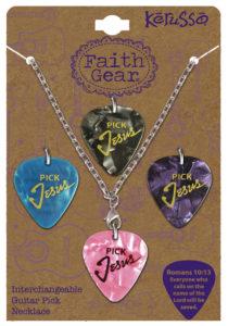 Plektra -kaulakoru naisille, Pick Jesus (sis. 4 vaihdettavaa plektraa)