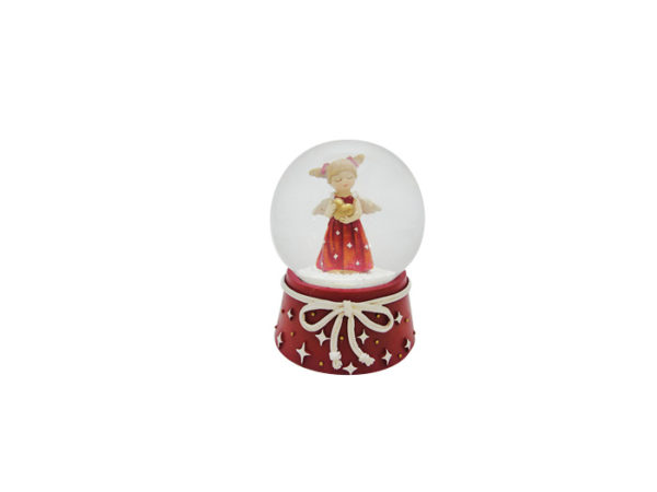 Lumisadepallo, pieni enkelityttö