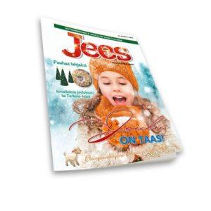 Jees - lasten oma joululehti 2018