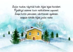 Joulukortti (Joulun tuoksu)