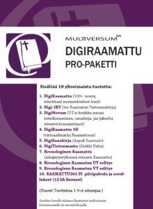 DigiRaamattu Pro -paketti (mm. IRT, Novum, + Saarisalo + Palva)