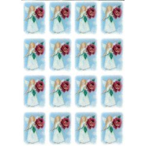 Tarra-arkki, Enkeli ruusu kädessä