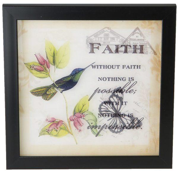 Lasitaulu, Faith